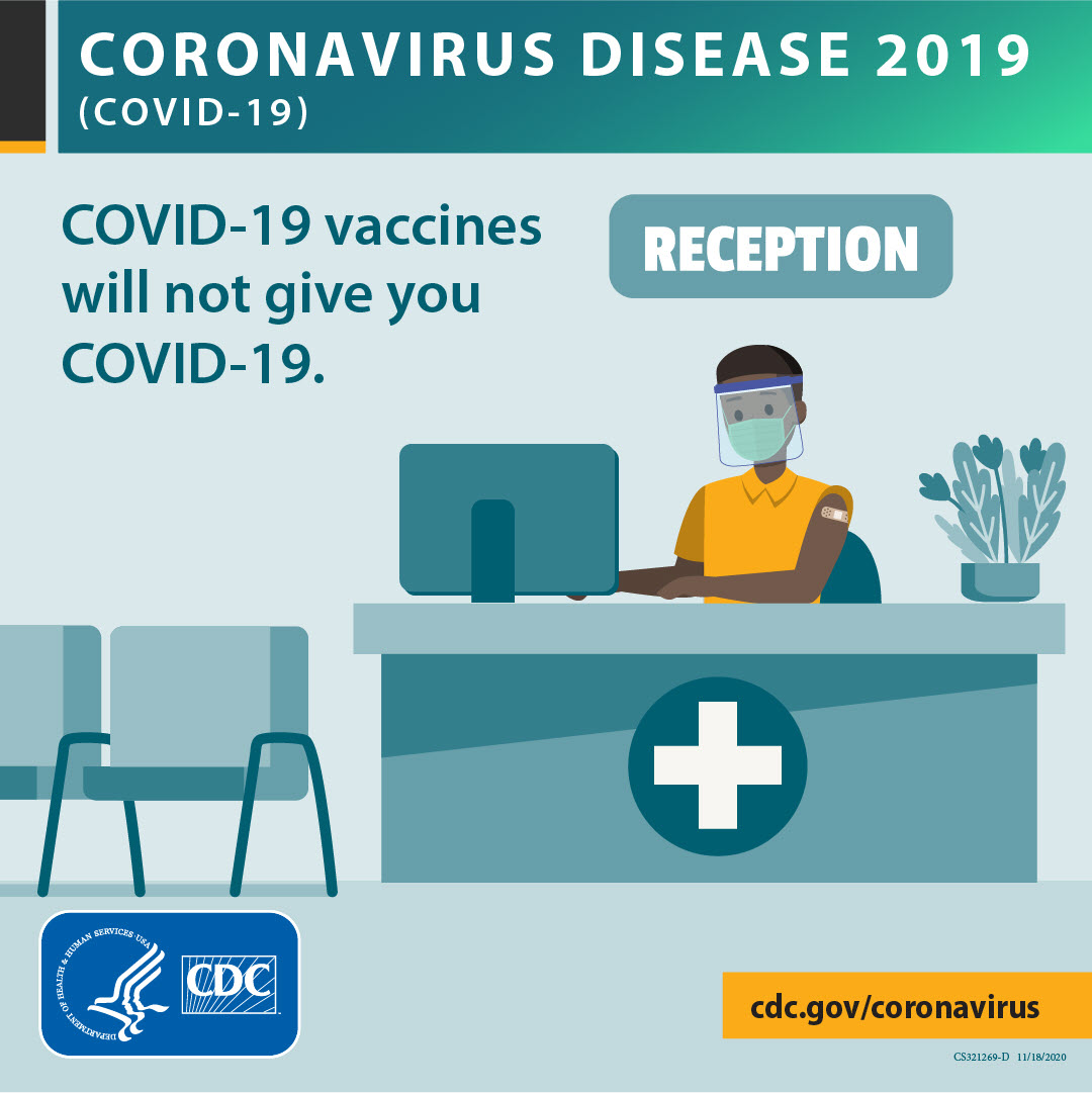CDC-COVID19 Vaccine will NOT give you COVID